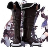 少女前線 Girls Frontline 2B14風 コスプレ靴 ブーツ