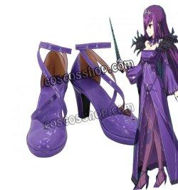 画像1: Fate/Grand Order フェイト・グランドオーダー スカサハ=スカディ風 コスプレ靴 ブーツ
