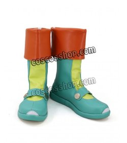 画像2: ぷよぷよ! リデル風 コスプレ靴 ブーツ