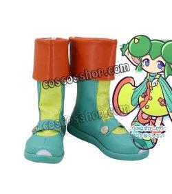 画像1: ぷよぷよ! リデル風 コスプレ靴 ブーツ