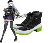 少女前線 Girls Frontline HK416風 02 コスプレ靴 ブーツ