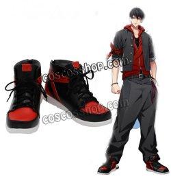 画像1: ヒプノシスマイク -Alternative Rap Battle- 山田一郎風 コスプレ靴 ブーツ