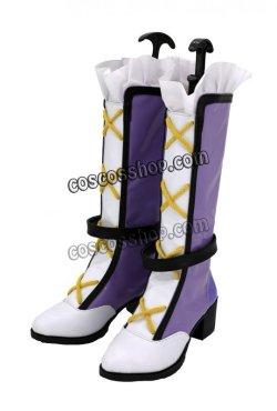 画像3: アイカツフレンズ! 蝶乃舞花風 ちょうの まいか コスプレ靴 ブーツ