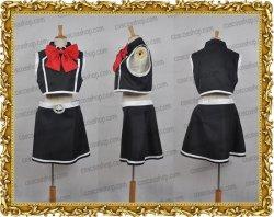 画像1: クイズマジックアカデミー ユリ風 黒 ●コスプレ衣装