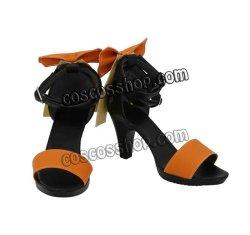 画像1: VOCALOID ボーカロイド 歌手音ピコ風 PIKO コスプレ靴 ブーツ