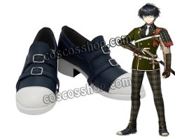 画像1: 刀剣乱舞 篭手切江風 コスプレ靴 ブーツ