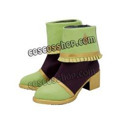 画像4: アイカツ! 冴草きい風 コスプレ靴 ブーツ