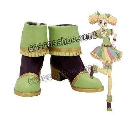 画像1: アイカツ! 冴草きい風 コスプレ靴 ブーツ