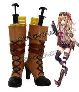 少女前線 Girls Frontline Kalina風 コスプレ靴 ブーツ