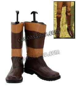 画像1: ローグ・ワン/スター・ウォーズ・ストーリー風 コスプレ靴 ブーツ